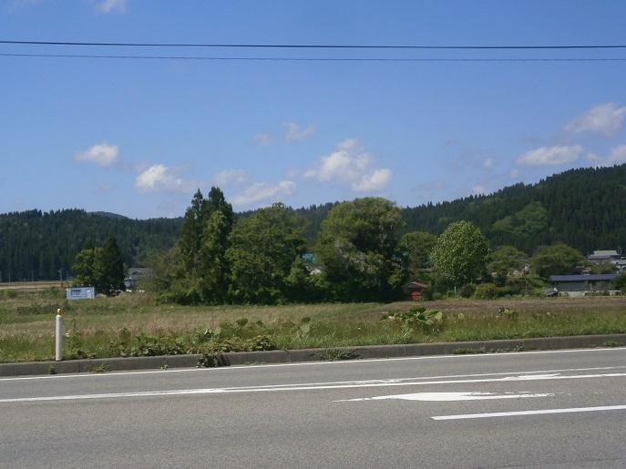 青空と山1