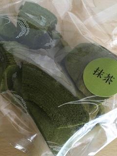 お米の菓子工房 コメル お米のばうむ 抹茶のミミ