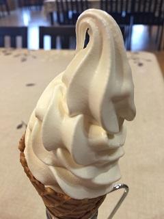 タンポポ食堂 ソフトクリーム