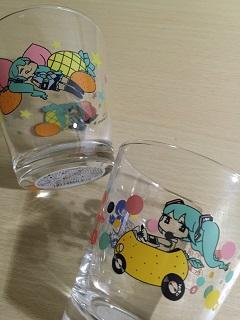 初音ミク グラス&ミックスヨーグルトゼリー3