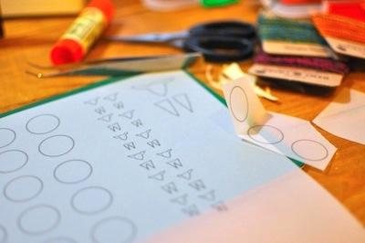 14クリスマスWSコラージュ型紙