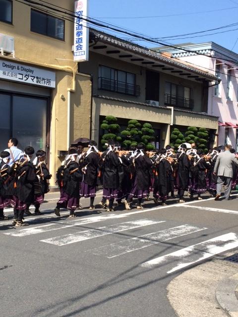2015 05 10 梛神社 神幸祭 練習-1