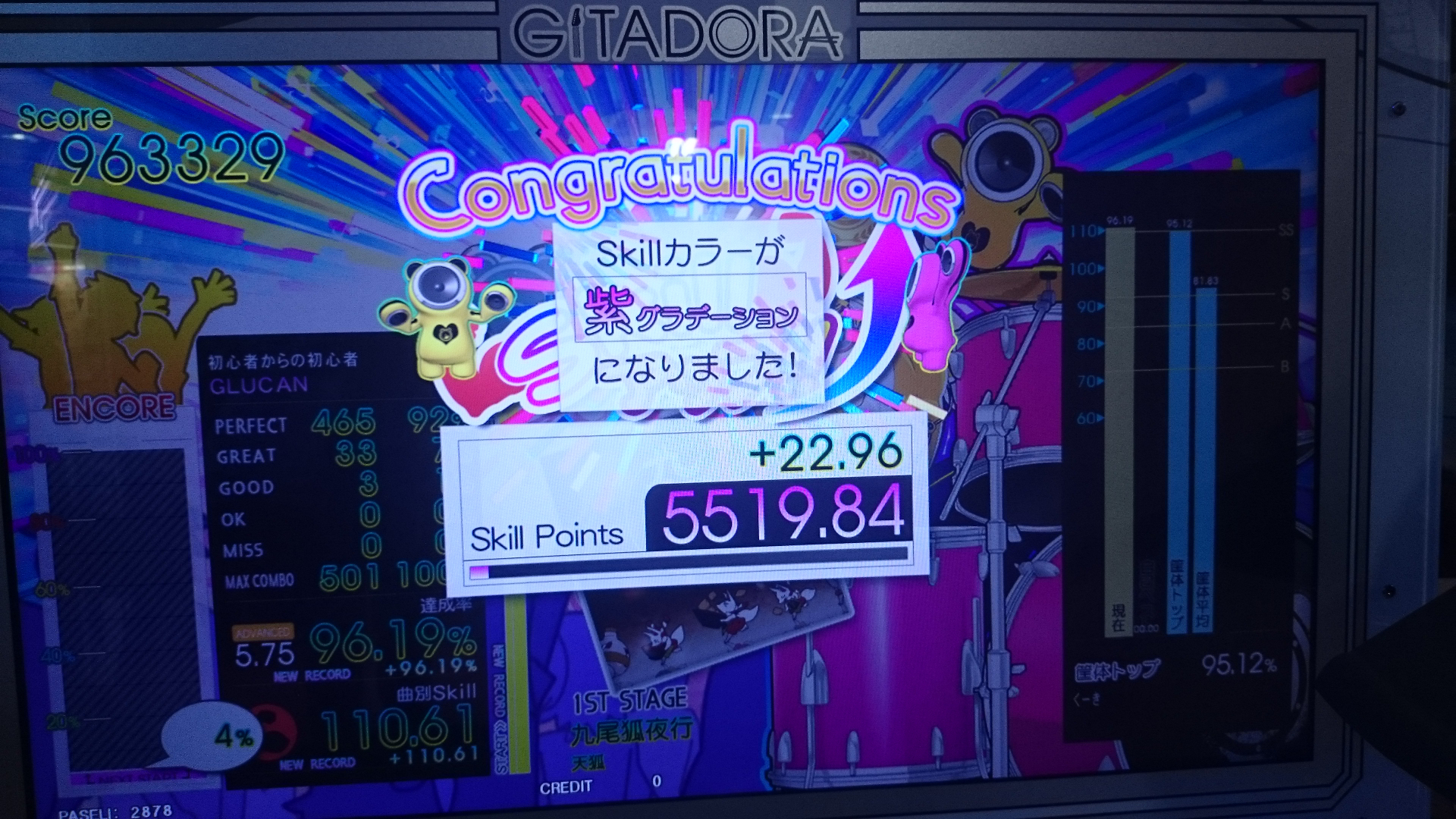 ドラム紫グラ