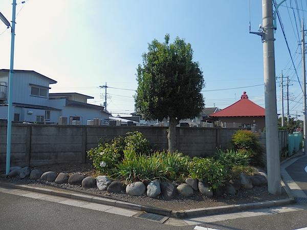 「板橋区遺跡番号136番 無名塚」