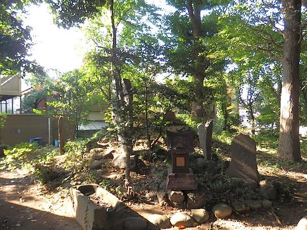 「赤塚氷川神社富士塚」(板橋区登録文化財)