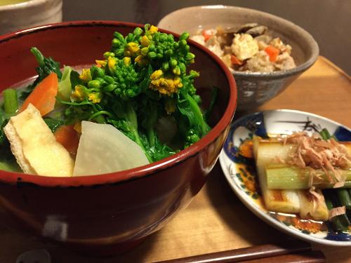 Mar11_菜の花と野菜たっぷりお味噌汁