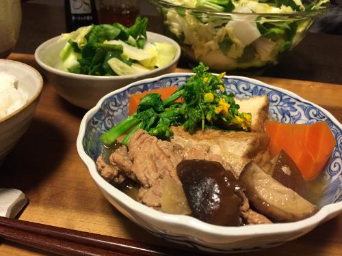 Mar17_豚肉の煮物生姜風味