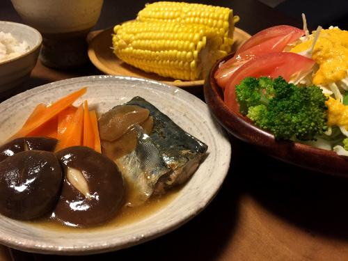 Jun22_鯖と野菜のあんかけ煮