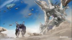 「ガンダムビルドファイターズトライ」第21話「蒼き翼」34