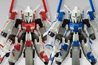 「FW GUNDAM CONVERGE EX04 ハミングバード(Ver.BLUE)」と「FW GUNDAM CONVERGE EX04 ハミングバード(Ver.RED)」rt1