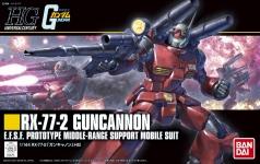 HGUC(REVIVE) RX-77 ガンキャノンのパッケージ(箱絵)