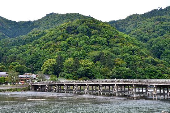 渡月橋〜♪