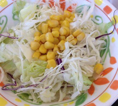 とん汁サラダセット サラダ