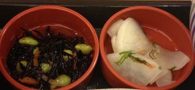 鶏甘酢あん定食 小鉢