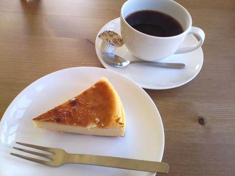 チーズケーキ&コーヒー