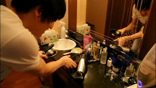 ジェジュン洗面所