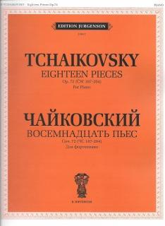 Tchaikovsky Op72