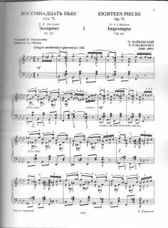 Tchaikovsky Op722