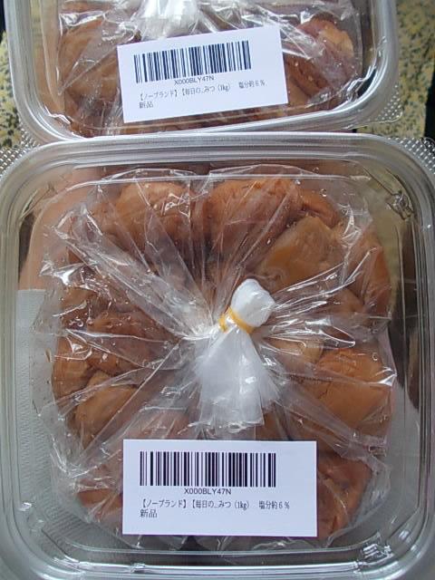 Nankoubai pickled Japanese apricot 20150419