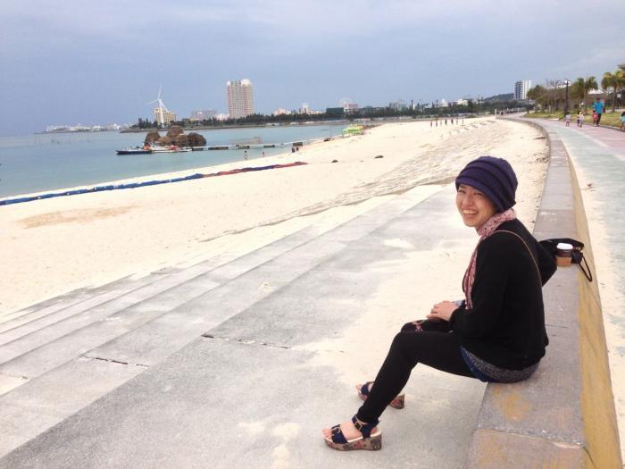 オストメイト、沖縄に