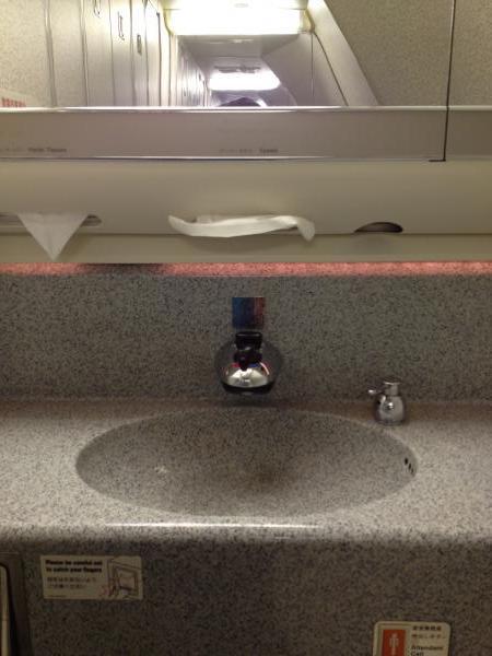 B777-200の多機能トイレ!2