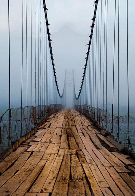 ホラーなつり橋~~