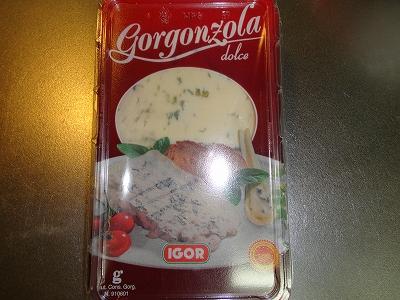ゴルゴんゾーラチーズ