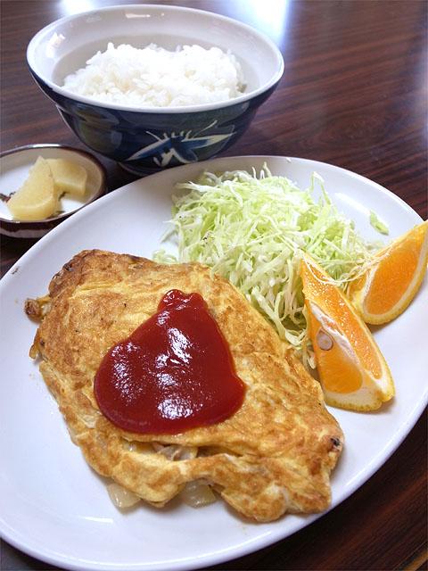 140728ききょうや食堂-オムレツライス