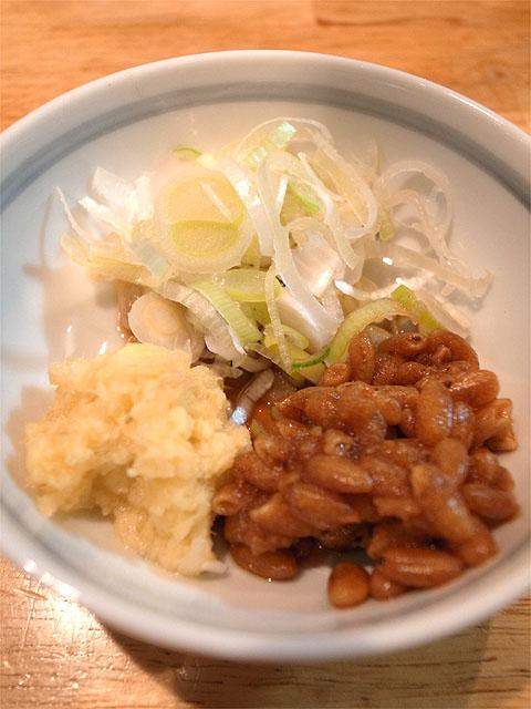 150122白神-釜揚げつけ麺・薬味