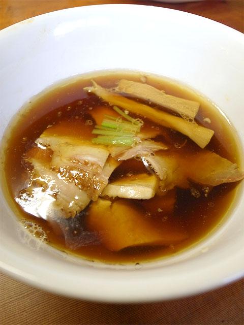 141005飯田商店-つけ麺・つけ汁