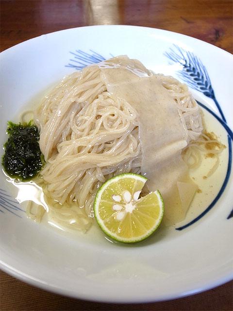 141005飯田商店-つけ麺・麺