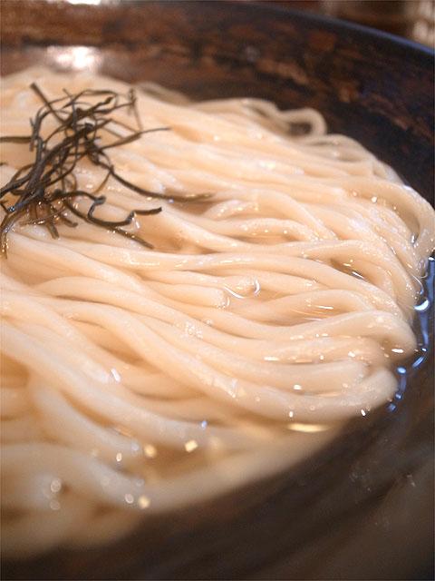 150131かたぶつ-~いりこ香る~潮つけ麺・麺