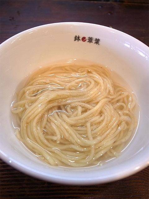 150228鉢ノ葦葉-釜揚げ蜂蜜ジンジャー檸檬・替玉
