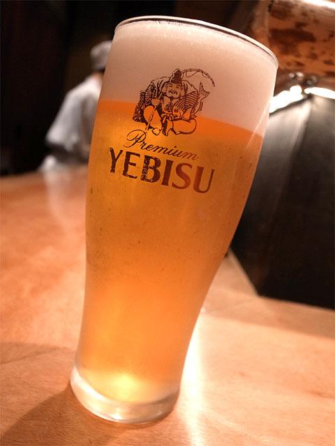 141101すずらん-ヱビスビール