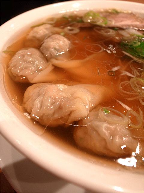 141101すずらん-雲呑麺・ワンタン