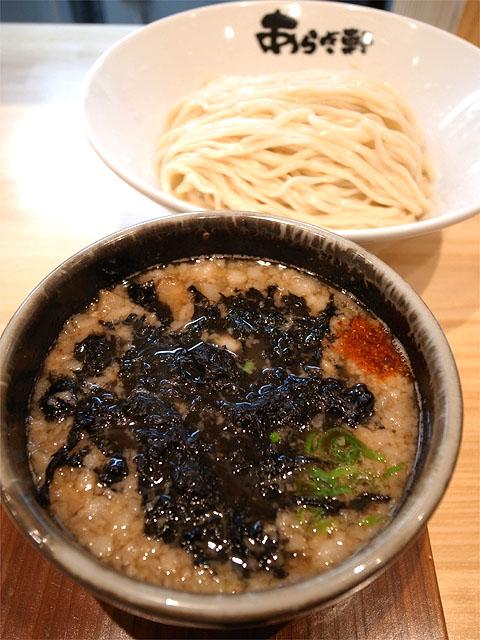 150420あらき軒-ニボチャチャ!!つけ麺