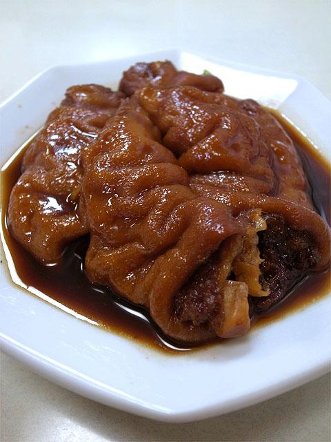 141103徳記-豚脚麺・豚足