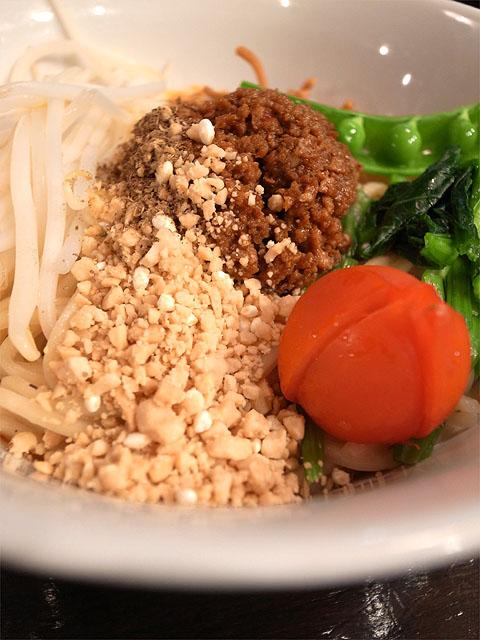 150308HOUKIBOSHI Beans-ビーガン汁無し担々麺・具