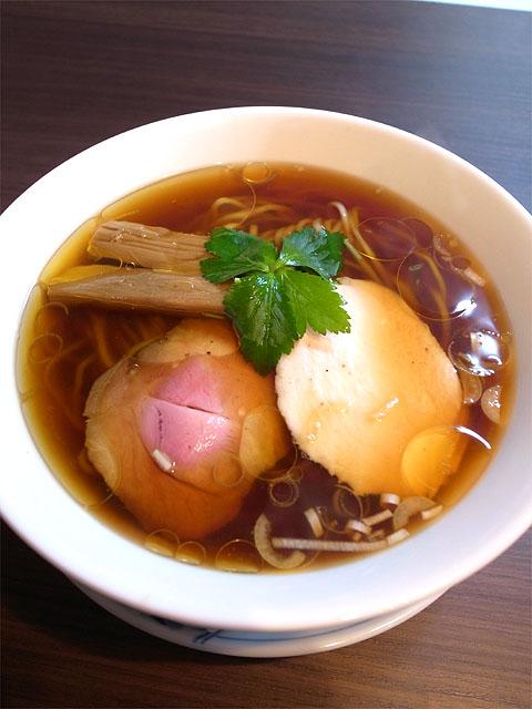150505紫陽花-醤油らぁ麺