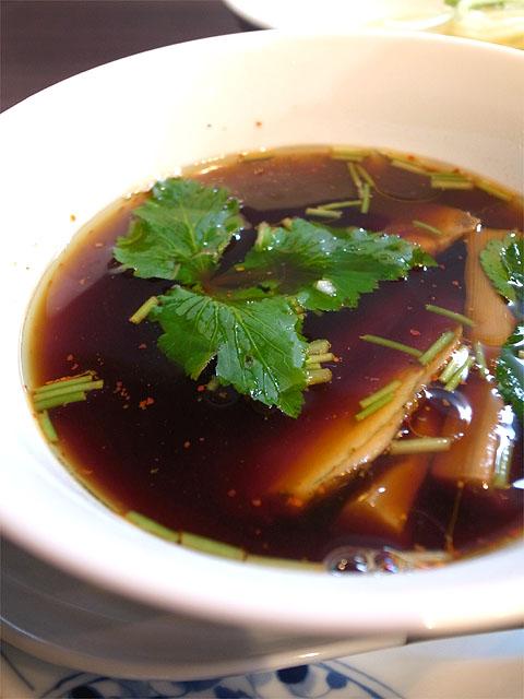150505紫陽花-醤油つけ麺・つけ汁