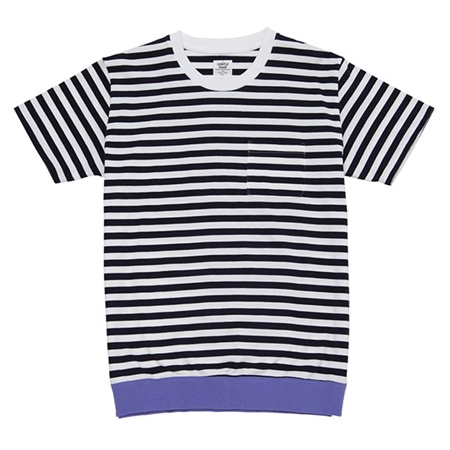 TP22 COLOR BORDER TEE PURPLE_R