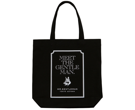AC30 TOTE BAG MEET THE GENTS BLACK_R