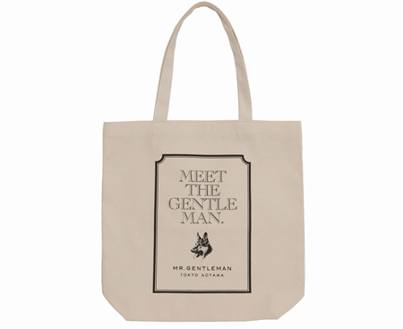 AC30 TOTE BAG MEET THE GENTS IVORY_R