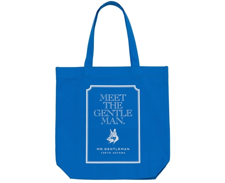 AC30 TOTE BAG MEET THE GENTS BLUE_R