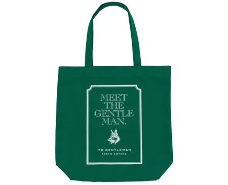AC30 TOTE BAG MEET THE GENTS GREEN_R