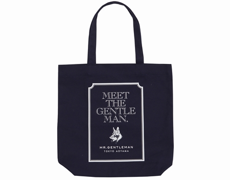 AC30 TOTE BAG MEET THE GENTS NAVY_R