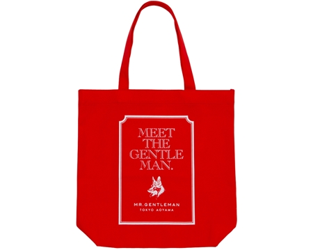 AC30 TOTE BAG MEET THE GENTS RED_R