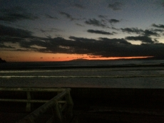 空が赤い。 #海 #海photo