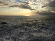 なんか海が光って綺麗。