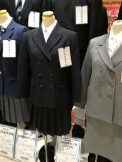 小田原高校の制服ってたしか襟なしジャケットにボックスプリーツのスカートだったと思ったけど、いつの間にか変わったんだな。